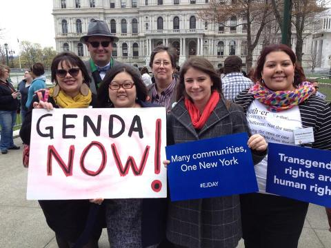 Rallying and lobbying for LGBT rights - 2014